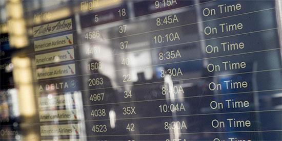 Estadísticas de transporte aéreo e  itinerarios y formularios para reportes