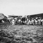 Inauguración del campo de aterrizaje en San Isidro De El General