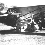 Transporte del correo aéreo de Costa Rica.