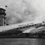 DC-3 matrícula TI-1020 de Aerovías del Valle