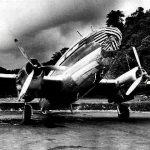 Ligero accidente de un C-46 de LACSA