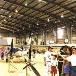 Segunda Feria Internacional de la Aviación en el Aeropuerto Santamaría, 1997