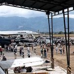 Tercera Feria Internacional de la Aviación en el Aeropuerto Santamaría, enero de 1999